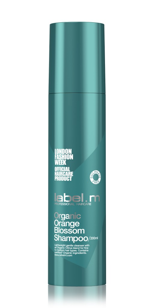 Label M_Pump_200ml_Organic Orange Blossom_Shampoo