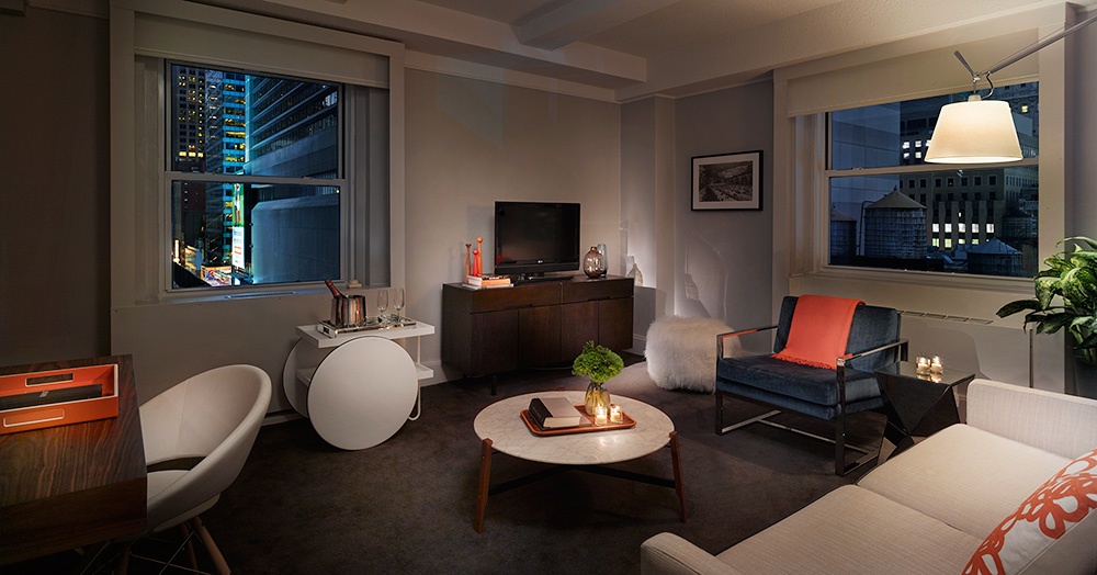 Hotel review paramount hotel new york city - Hotel suites new york city 2 bedrooms ...